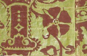 Wallpaper- 1700's block print
