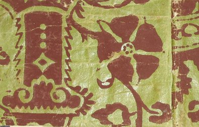 Wallpaper- 1700's block print