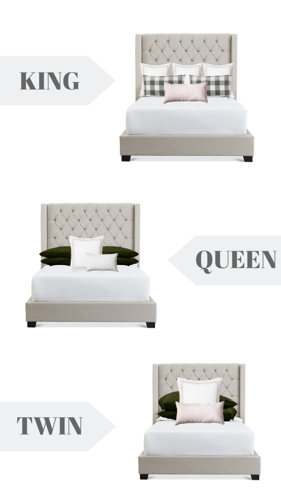 Bedroom throw pillows