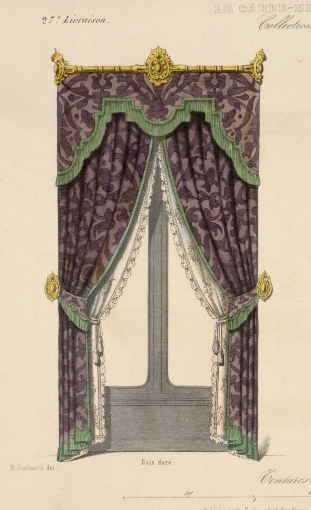 Renaissance styled draperies