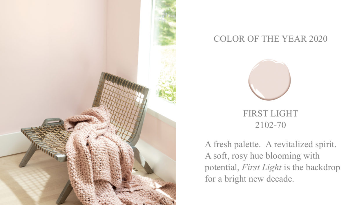 Benjamin Moore Color of the Year First Light, 2102-70
