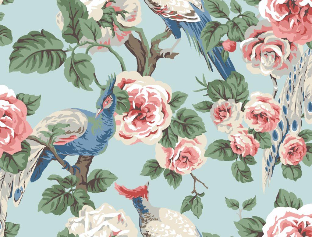 Garden Plume Wallpaper