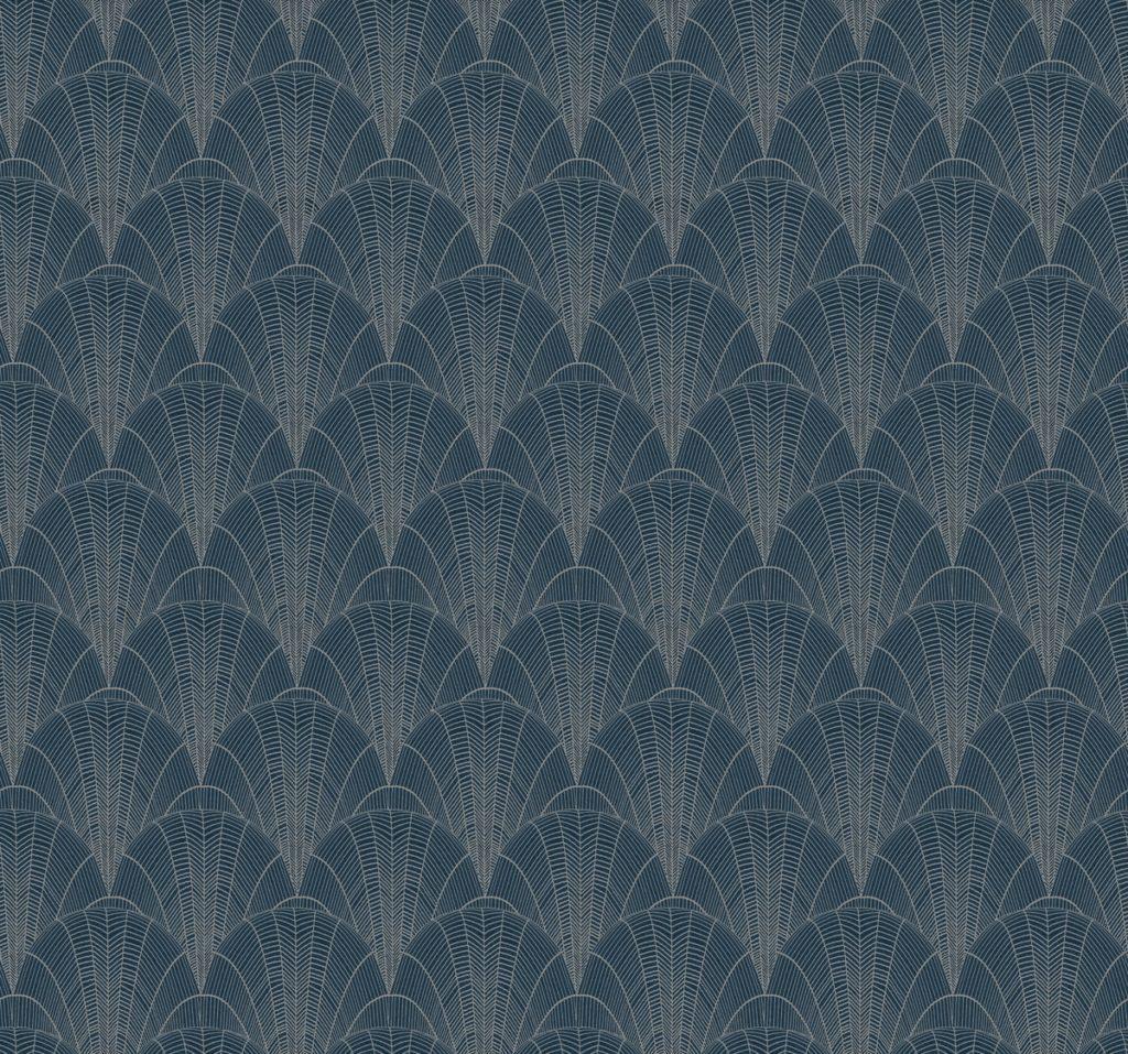Scalloped Pearl Wallpaper