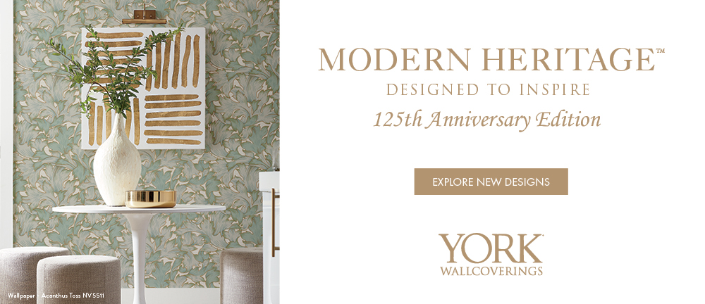 Modern Heritage by York Wallcoverings wallpaper collection