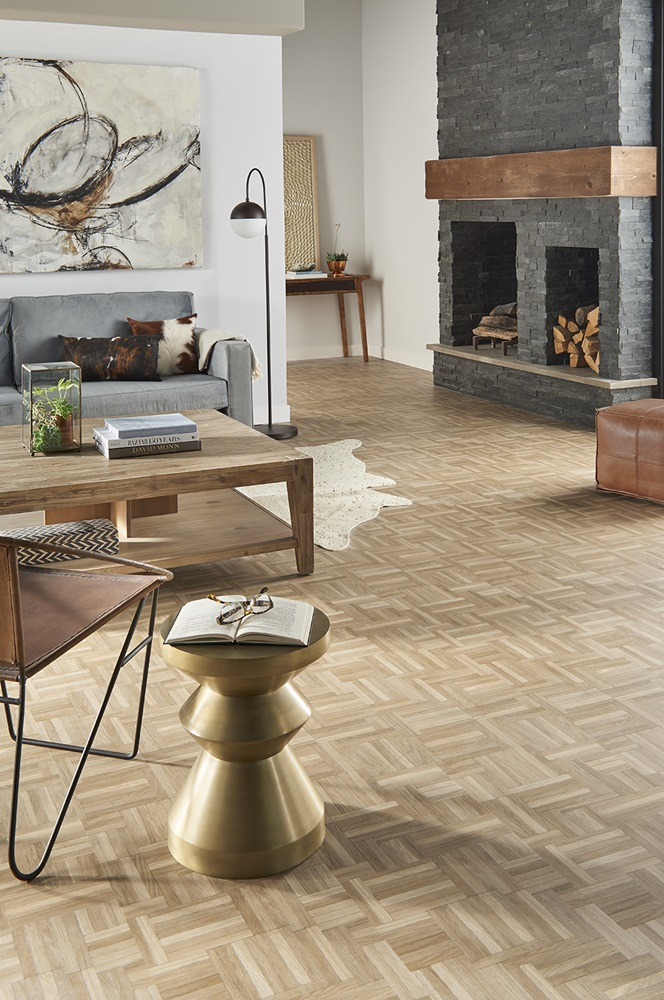Mannington luxury vinyl flooring ADURA Apex Loft - Sunrise