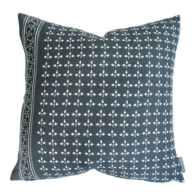 Small print floral blue Studio McGee and McGee and Co