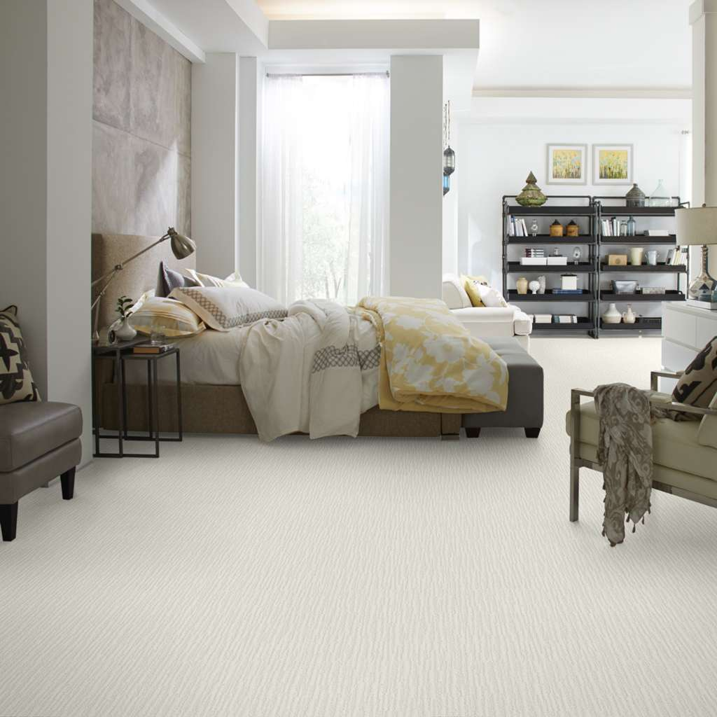 Wall-to-wall carpeting by Shaw Floors