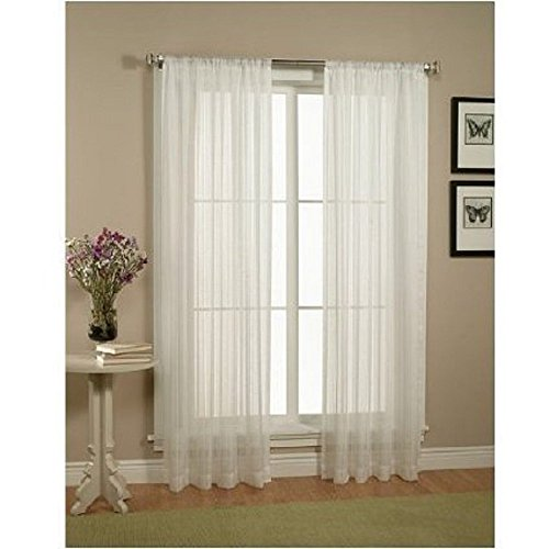 Curtain rods installed wrong, sheer curtains, sheer draperies