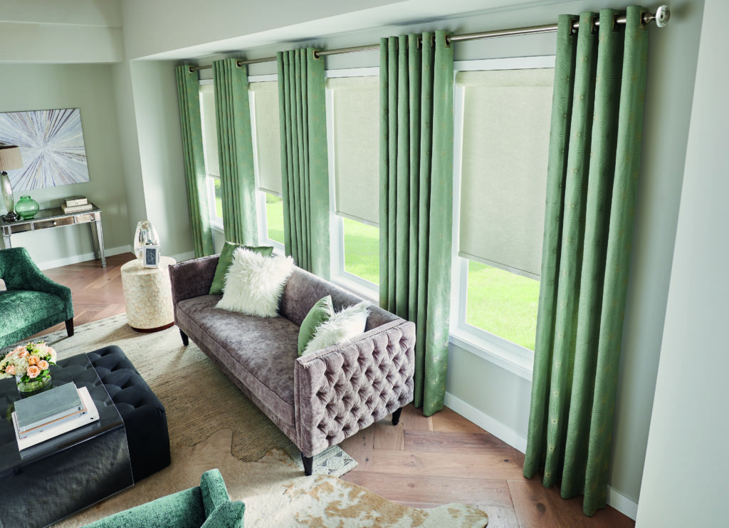 The best hassle-free method to hanging curtain rods and draperies